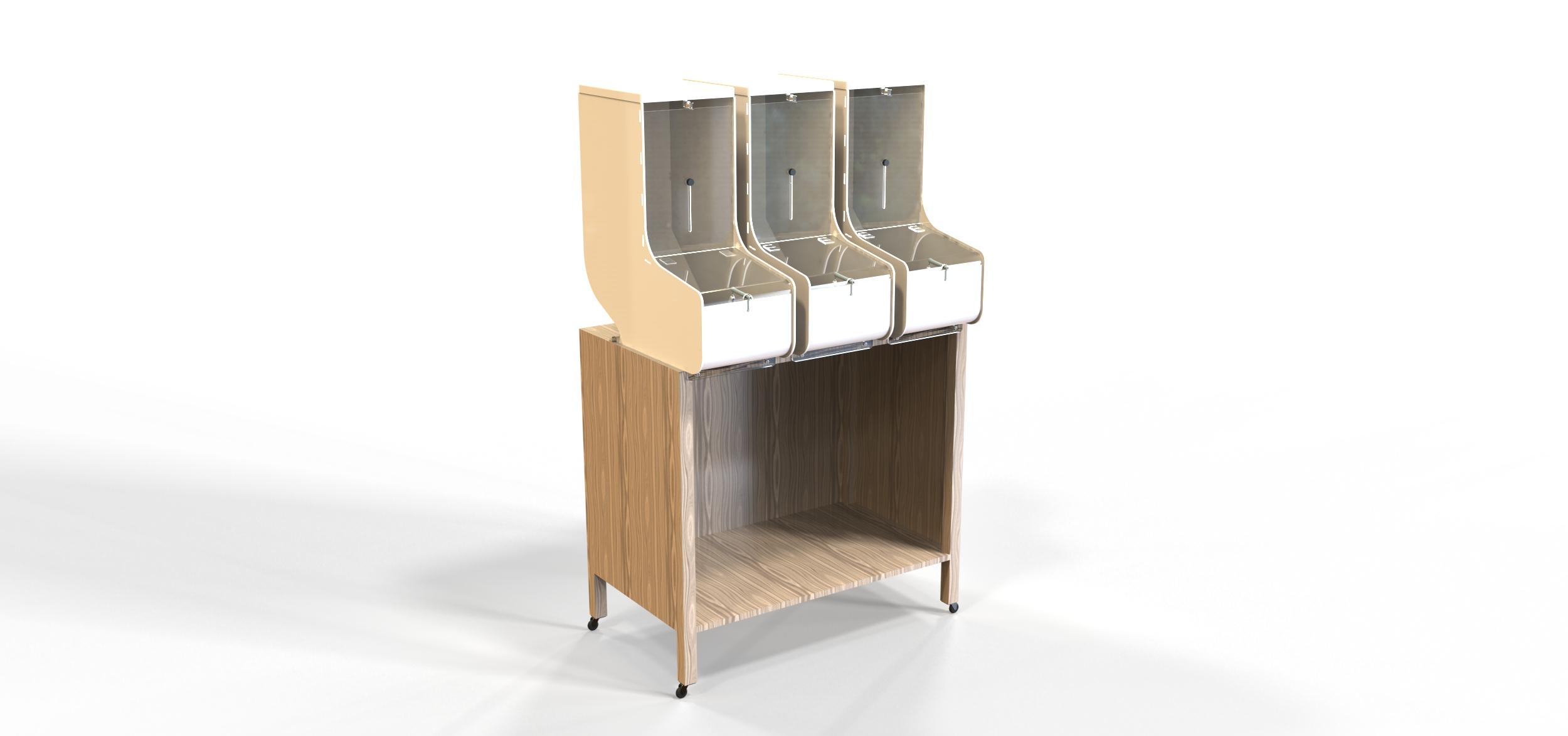 Petbulk dispenser per alimenti grande idea style
